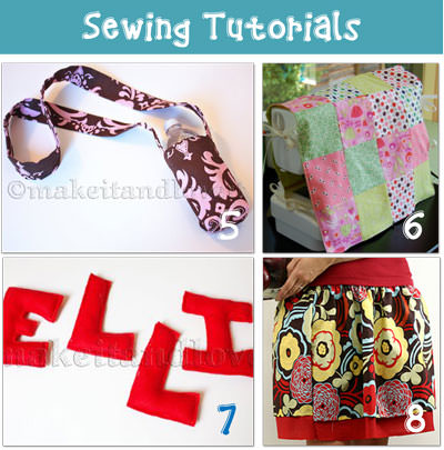 crafts Sewing Tutorials