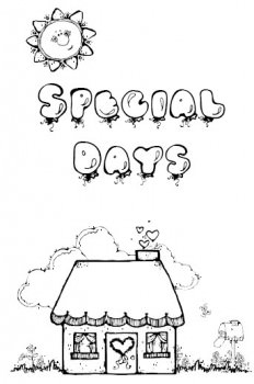 Special Days Booklet