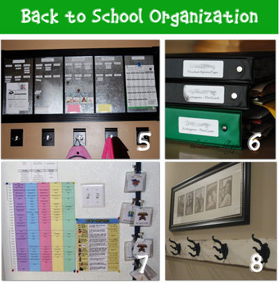get organized for school 8 diy ideas tip junkie