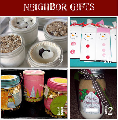 christmas 24 Homemade Christmas Gifts for Neighbors