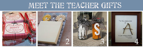 Ideas for Meet the Teacher {5 Homemade Gifts} – Tip Junkie