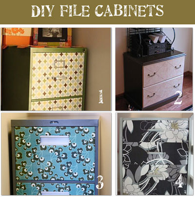 all crafts 8 File Cabinet Makeovers {Drab to Fab!}