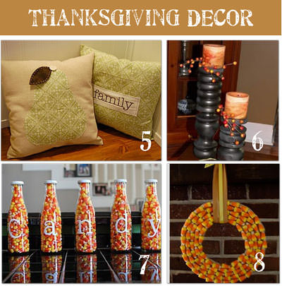 16 frugal thanksgiving decorating ideas tip junkie Thanksgiving table decorations homemade