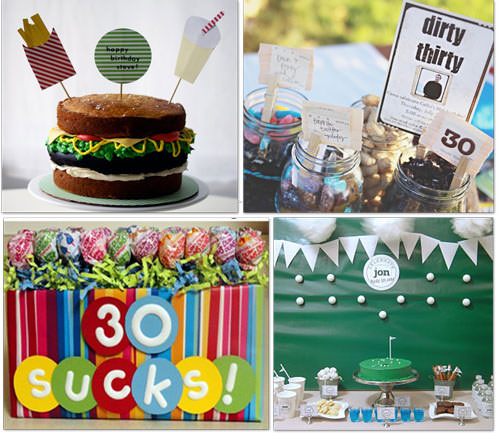 all crafts 25 Adult Birthday Party Ideas {30th, 40th, 50th, 60th}