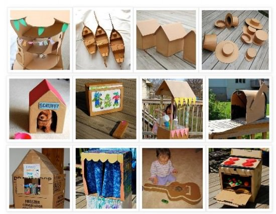 Things to Make Using A Cardboard Box