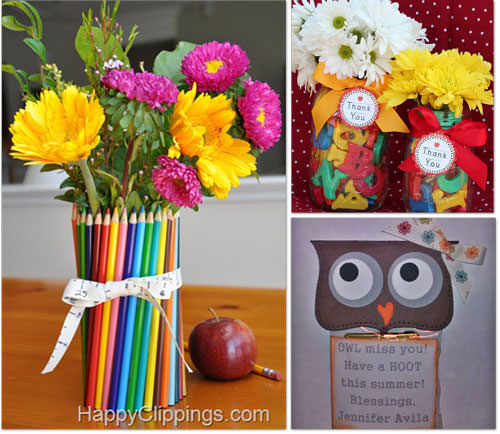 Homemade Gifts for Teachers