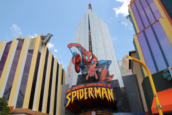 Universal Islands of Adventure Spiderman Ride
