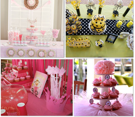36 girl party themes cake and games birthdays tip junkie for 5th birthday decoration ideas