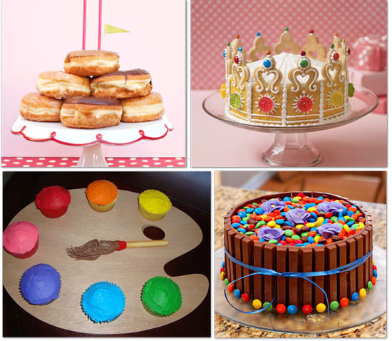 Cute Cake Designs Easy : 28 Cupcake and Birthday Cake Ideas {recipe} Tip Junkie