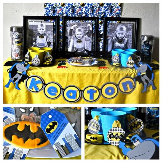BATMAN! A Superhero Birthday Party