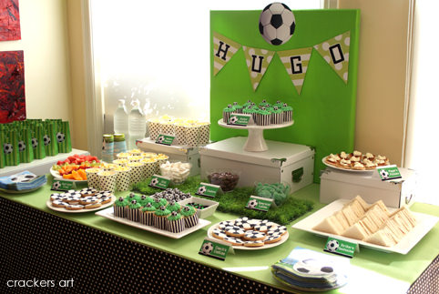 Hugo's 6th Birthday Party  {Soccer Theme}