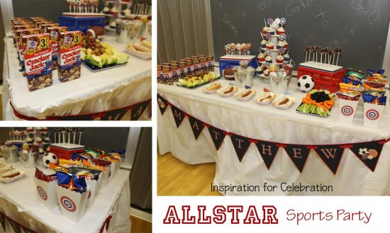 All American Sports Party