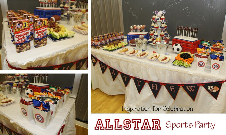 Great All Sports Theme Birthday Party Ideas 1600 x 958 · 325 kB · jpeg