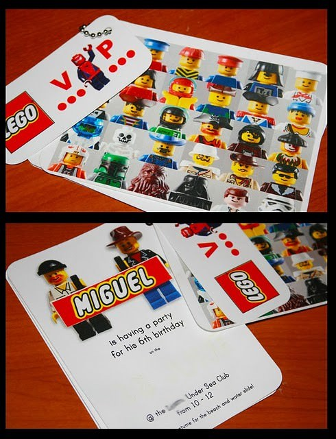 Free Printable Lego Party Favors & Decor