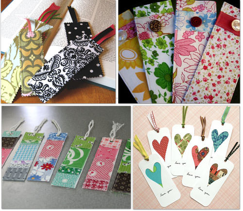 4 Darling Homemade Bookmark Patterns