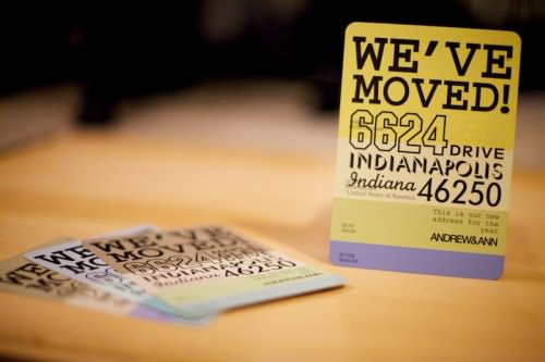 16 Creative Change of Address Cards