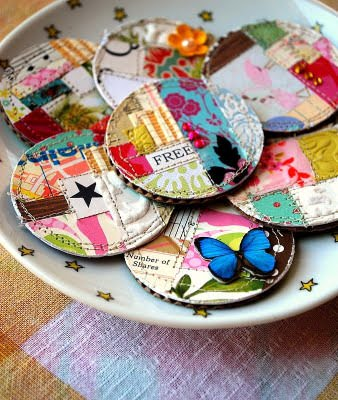 DIY Magnet Project {Decorating With Paper}