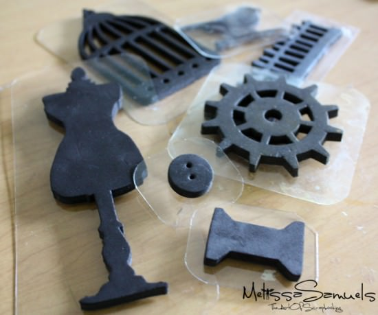 Custom Foam Stamps {Stamping Tools}