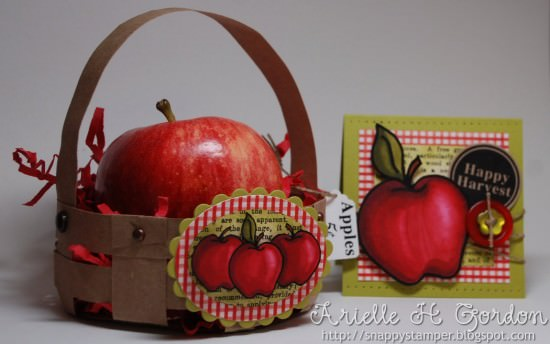 Mini Brown Bag Apple Basket Tutorial {Simple Paper Crafts}