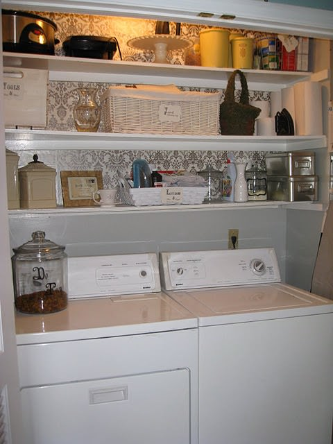 closet laundry room make over
