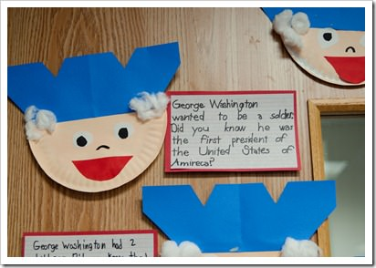 Paper Plate George Washington