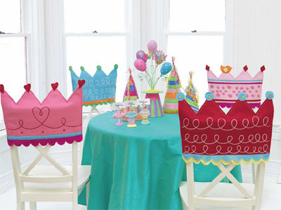 Crown Birthday Chair Covers