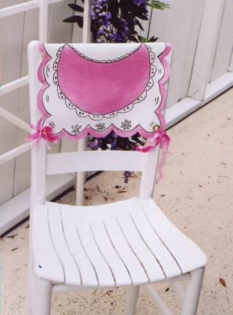 all crafts 25 Gorgeous Chair Covers and Festive Chair Backs To Make