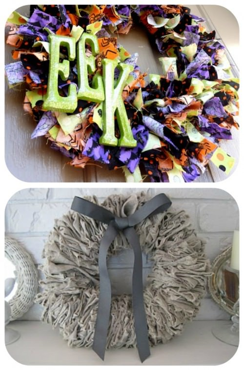 How to make a Rag wreath