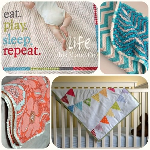 Pictured Baby Blanket Tutorials