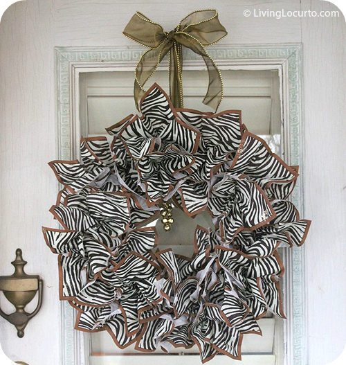 DIY Napkin Paper Wreath
