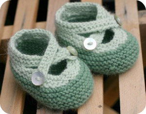 Knit Baby Booties Free Pattern