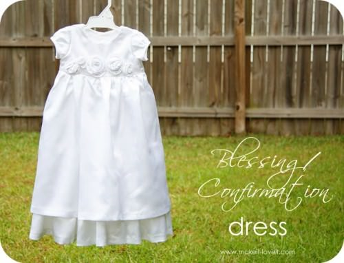 Blessing / Confirmation Dress Pattern