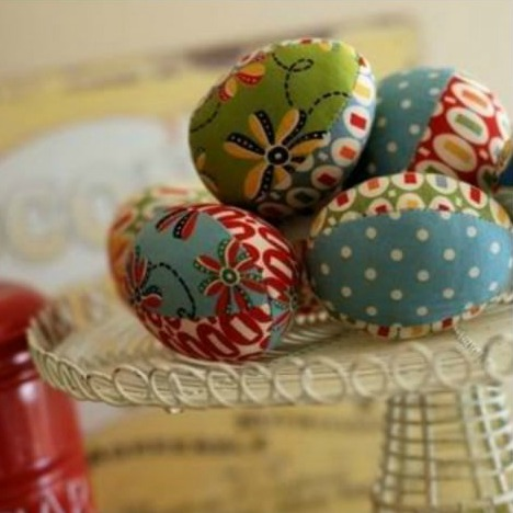 Fabric Easter Egg Pattern