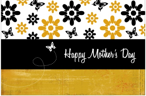 Mothers Day Printable Card {free download}