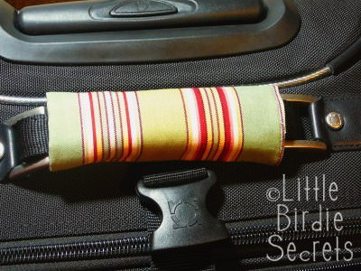How To Make A Luggage Handle Cover
