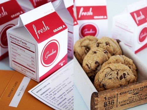 Milk and Cookie Favor Printables