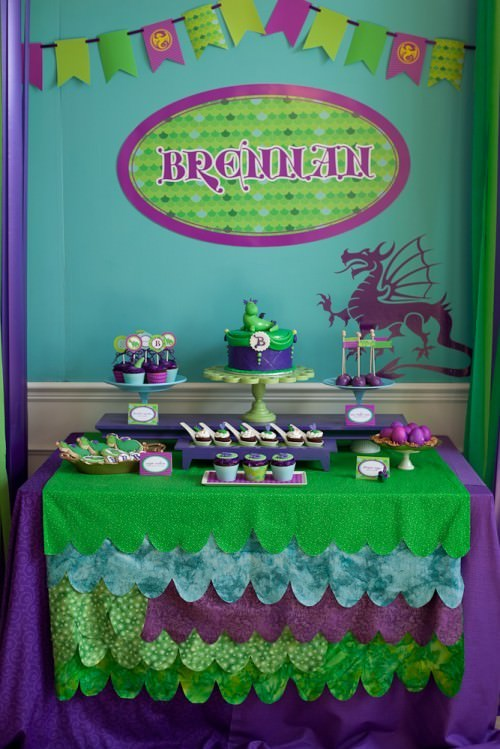 Puff the Magic Dragon Birthday Party