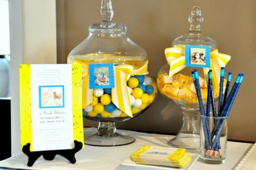 Golden Books Baby Shower Party