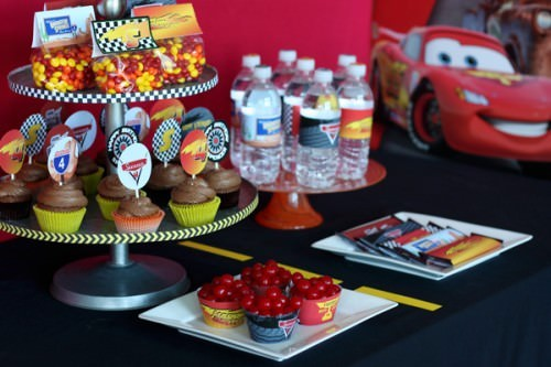 Disney Inspired Cars Birthday party... Kachow!