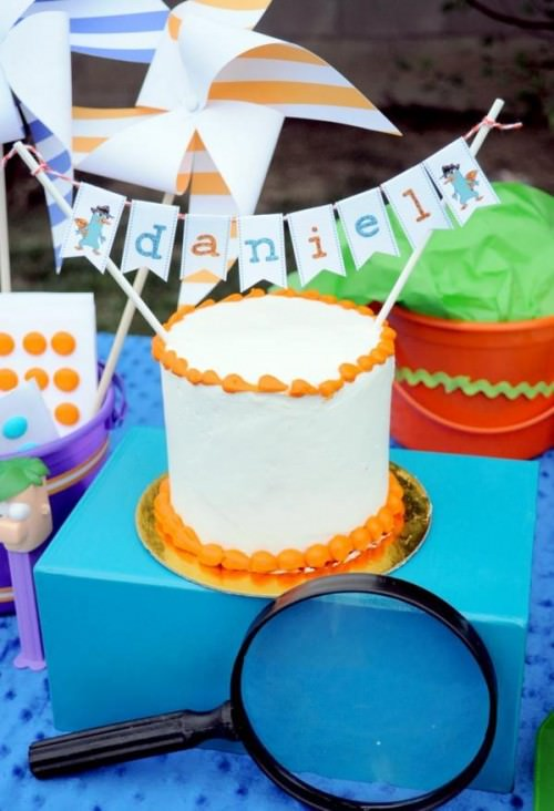 Phineas and Ferb Birthday Party