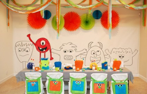Disney Monsters Birthday Party
