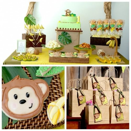 Monkey and Banana's Birthday Party