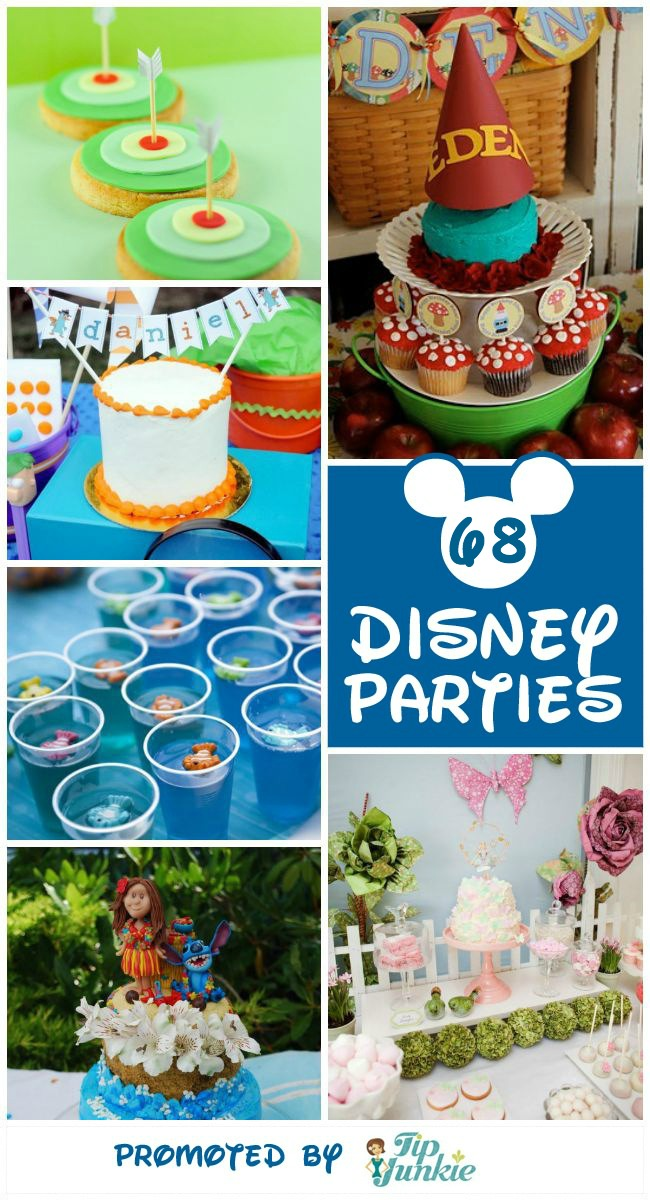 TJ Disney Party