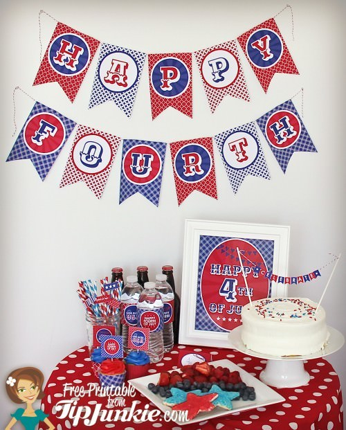 4th of July Celebrations {free to print}