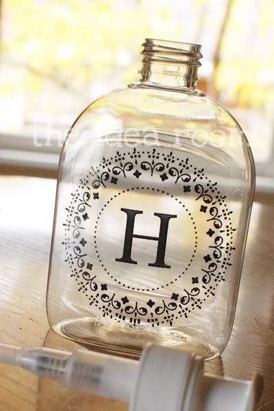Monogrammed Hand Soap or Sanitizer Gift
