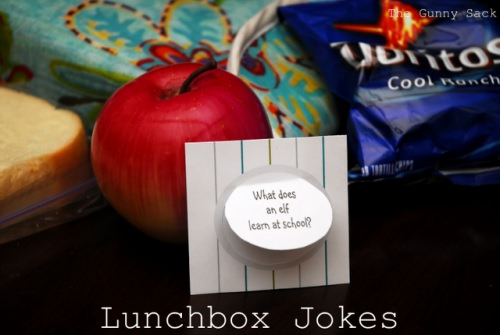Lunch Box Jokes {for the kids}
