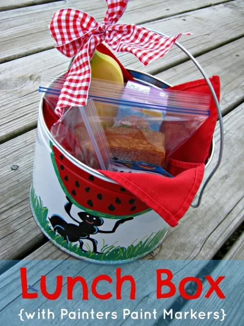 Painters Paint Marker Lunch Box