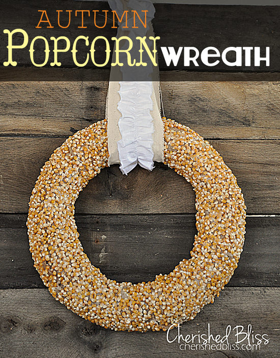 DIY Popcorn Wreath