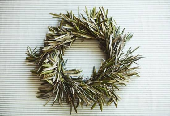 Fall Olive Wreath