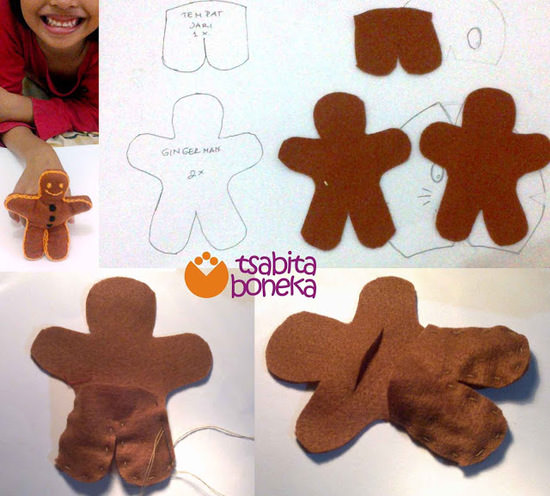 Gingerbread Man 1 tahap awal